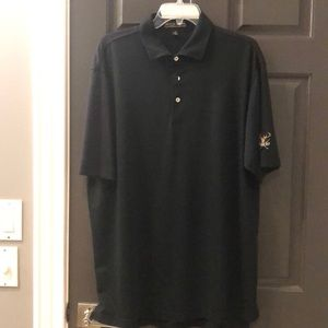 Men's Peter Millar polo.  Black XL